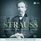 Strauss: Complete Orchestral Works / Rudolf Kempe; Ulf Hoelscher, Paul Tortelier, Peter Damm, Malcolm Frager, Peter Rosel