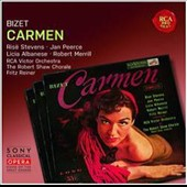 Georges Bizet: Carmen / Rise Stevens, Jan Peerce, Licia Albanese, Robert Merrill. Fritz Reiner, RCA Victor Orch.