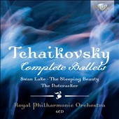 Tchaikovsky: Complete Ballets - The Nutcracker; Sleeping Beauty; Swan Lake / Royal PO, Wordsworth, Moldoveanu, Illaninov