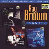 Ray Brown (Bass): Triple Play [Box]