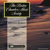 Boston Chamber Music Society - Brahms: Piano Trio, Quartet