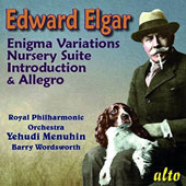 Edward Elgar: Enigma Variations; Nursery Suite; Introduction & Allegro / Royal PO; Yehudi Menuhin; Barry Wordsworth