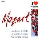Mozart: Exsultate Jubilate, etc / Mathis, English CO, Tallis