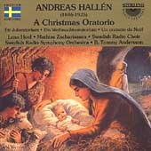 Hall&#233;n: Christmas Oratorio / Anderson, Hoel, et al