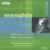 Beethoven: Violin Concerto;  Mozart / Menuhin, et al