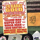 Various Artists: 24 Karat Gold: A 24 Track Mega-Mix of Classic Dancehall Hits