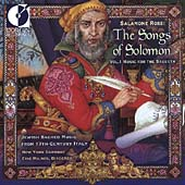 The Songs of Solomon, Vol. 1 - Jewish sacred music from 17th century Italy / Eric Milnes - New York Baroque