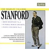 Stanford: Irish Rhapsody no 4, Piano Concerto no 2 / Boult