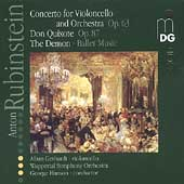 Rubinstein: Cello Concerto, Don Quixote, etc / Hanson, et al