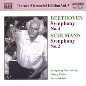 Tintner Memorial Edition Vol 3 - Beethoven, Schumann