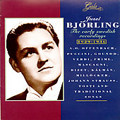 Jussi Bj&#246;rling - The Early Swedish Recordings