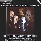 German Music for Trombones / Triton Trombone Quartet