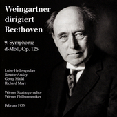 Weingartner dirigiert Beethoven: 9. Symphonie / Wiener
