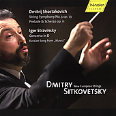 Stravinsky, Shostakovich / Sitkovetsky, New European Strings