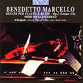 Marcello: Flute Sonatas Op 2 / Il Rossignolo, Tenerani