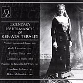 Legendary Performances of Renata Tebaldi - 7 Operas