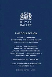 The Royal Ballet Collection - Celebrating 60 years since The Royal Ballet was awarded its Royal Charter, this magnificent 15-disc collection brings together 22 ballets spanning a decade of dance. [15 DVD]