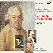 Sons of J.S. Bach - Carl Philip Emanuel Bach / Goltz, et al