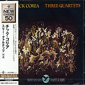 Chick Corea: Three Quartets