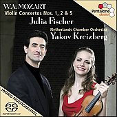 Mozart: Violin Concertos 1, 2, 5 / Fischer, Kreizberg, et al