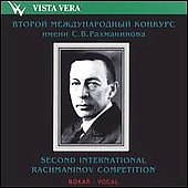 2nd International Rachmaninov Vocal Competition
