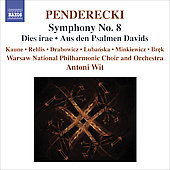 Penderecki: Symphony no 8 / Wit, et al