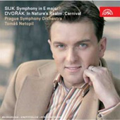 Suk: Symphony no 1 in E major;  Dvorak: Overtures / Netopil, Prague SO