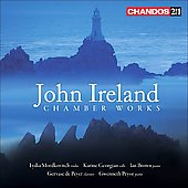 John Ireland: Chamber Works - Violin Sonatas no 1 & 2, Trios no 2 & 3, etc / Mordkovitch, Brown, Georgian, et al
