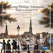 Telemann: Kapit&auml;nsmusik 1724 / R&eacute;my, Podoscielna, Post, Vieweg, Abele, et al