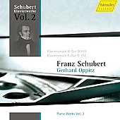 Schubert: Piano Works Vol 2 / Gerhard Oppitz