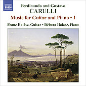 F. & G. Carulli: Music for Guitar and Piano Vol 1 / Franz Halász, Débora Halász