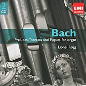 Gemini - Bach: Preludes, Toccatas and Fugues for Organ / Lionel Rogg