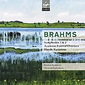Brahms: Symphony no 1 & 2, Haydn Variations, etc / Christoph Eschenbach, Houston Symphony Orchestra