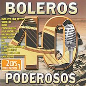 Various Artists: 40 Boleros Poderosos