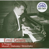 Emil Gilels in Prague