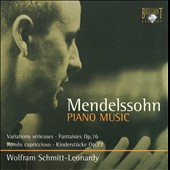 Mendelssohn: Piano Works