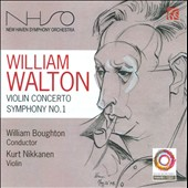 William Walton: Violin Concerto; Symphony No. 1