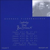 Georges Pludermacher / Beethoven Piano Sonatas, Vol. 5
