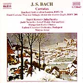 Bach: Cantatas BWV 51 & 208 / Ant&aacute;l, Kertesi, P&aacute;szthy