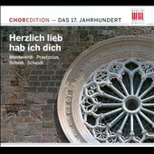 Herzlich lieb hab ich dich: Choredition - Das 17. Jahrhundert
