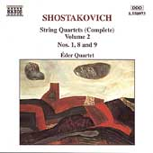 Shostakovich: String Quartets Vol 2 / Éder Quartet