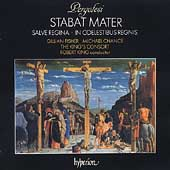 Pergolesi: Stabat Mater, etc /Fisher, Chance, King's Consort