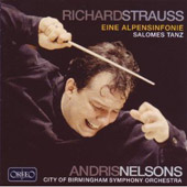 Richard Strauss: Eine Alpensinfonie; Salomes Tanz / Nelsons