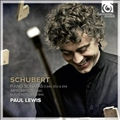 Schubert: Piano Sonatas D.840, 850 & 894; Impromptus / Paul Lewis