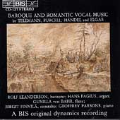 Baroque and Romantic Vocal Music / Leanderson, Finnil&#228;