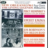Jim Robinson (Trombone)/Percy Humphrey/Sweet Emma Barrett/Billie & De De Pierce: Four Classic Albums: New Orleans 1961: The Living Legends