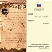 Grieg: Peer Gynt Suite No. 1; Rossini: Overtures