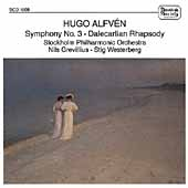 Alfvén: Symphony no 3, Swedish Rhapsody no 3 / Grevillius