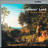 Not a pretty 'Country: German folk songs / Windsbacher Knabenchor