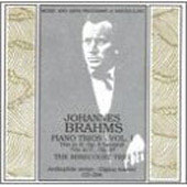 Brahms: Piano Trio no 1 & 2 / Mirecourt Trio